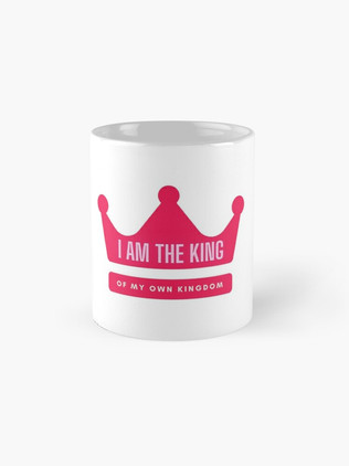 I am the King Capuccino Mug