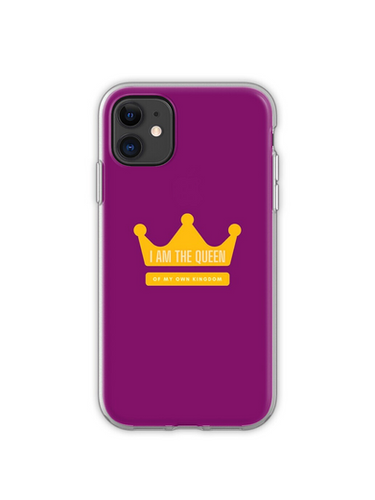 I am the Queen iPhone Case & Cover