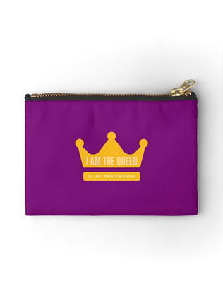 I am the Queen Zipper Pouch
