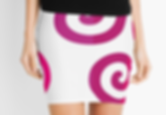 Mini skirt triskelion wicca