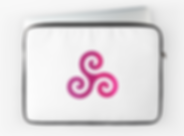 Laptop Sleeve triskelion Wiccan.png