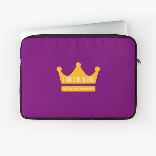 I am the Queen Laptop Sleeve