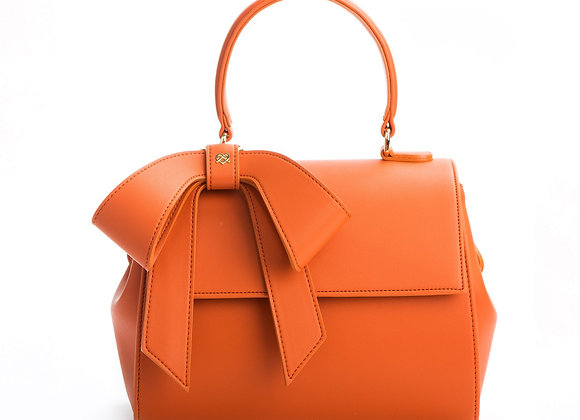 Cottontail - Orange Vegan Leather Bag