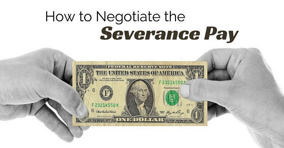Severance Agreement Negotiation for EE