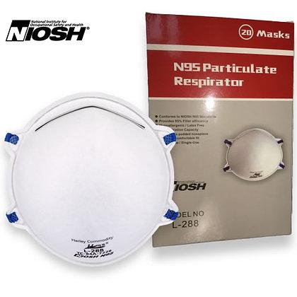 NIOSH N95 Masks (20 Pcs)