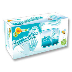 BeeSure Naturals Nitrile Gloves (300 Pcs)