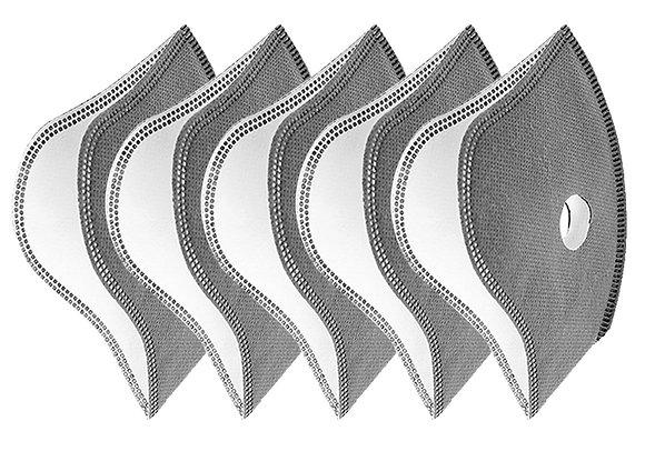 Carbon Face Mask Filters (10 Pcs)