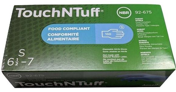 ANSELL TouchNTuff® Nitrile Gloves (100 Pcs)