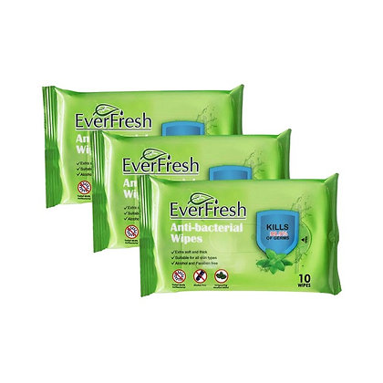 Anti-Bacterial Hand Wipes (30 Pcs)