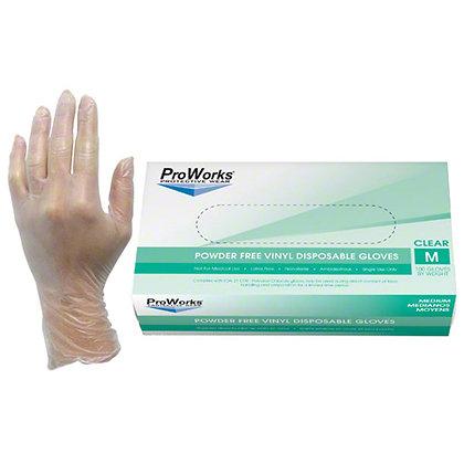 HOSPECO ProWorks Vinyl Gloves (100 Pcs)