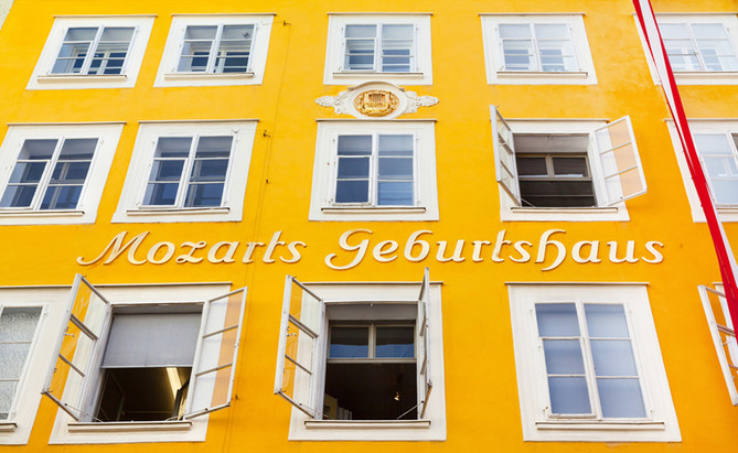 Birth house of Wolfgang Amadeus Mozart i