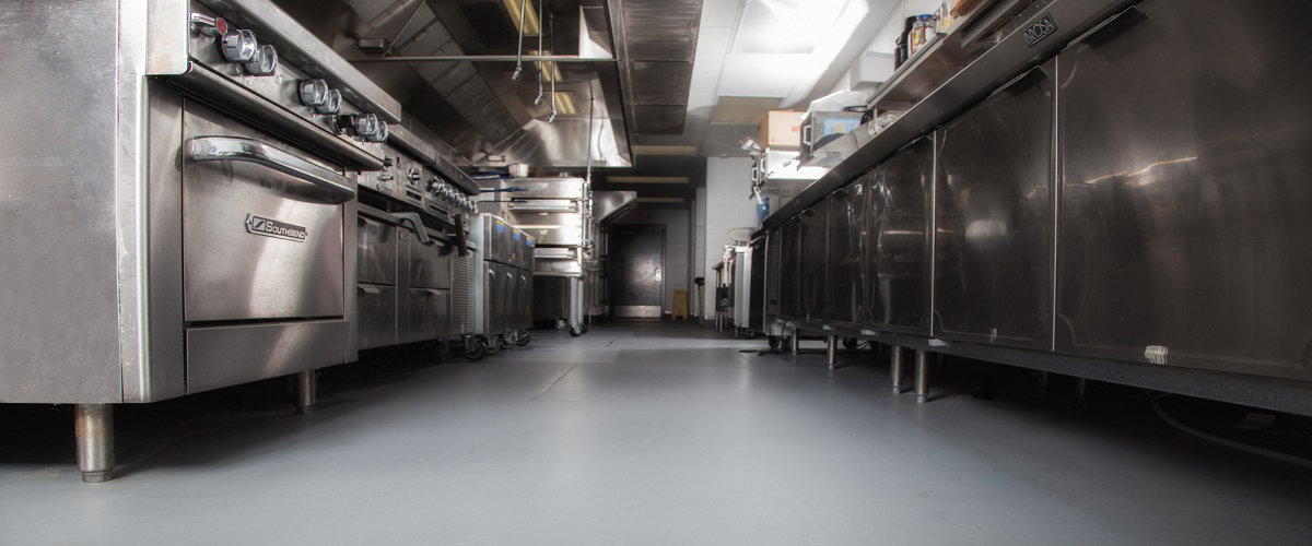 Kitchen Floor Cleaning