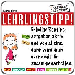 Lehrlingstipp Rewe #13 Routineaufgaben v