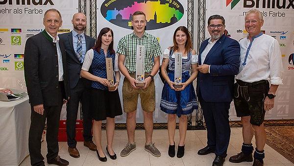 Die Sieger des Bundeslehrlingswettbewerbs in Salzburg
