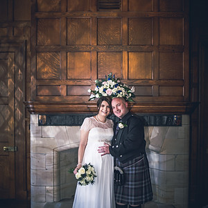 Stacey & Chris - wedding day.