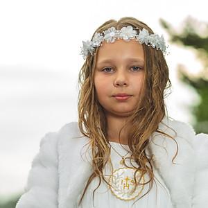 First communion of Vanessa