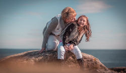 Malgorzata with daughter