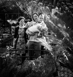 Magda & Przemek with family