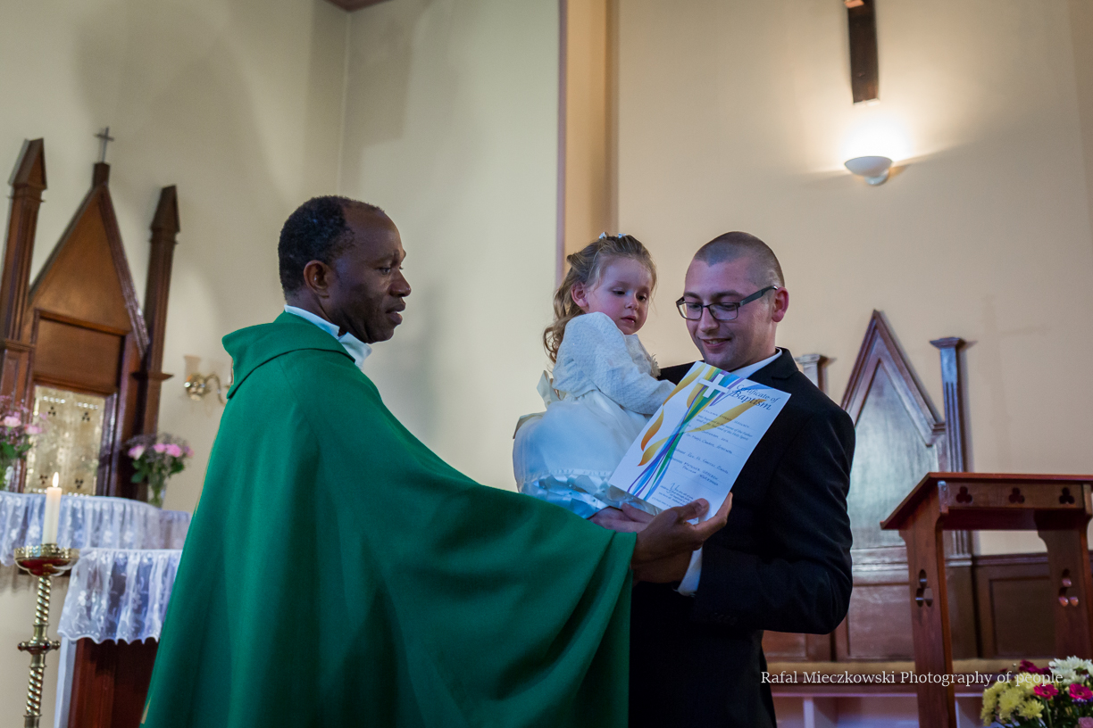 Lily`s baptism