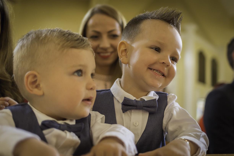 Babtism David and Lucas
