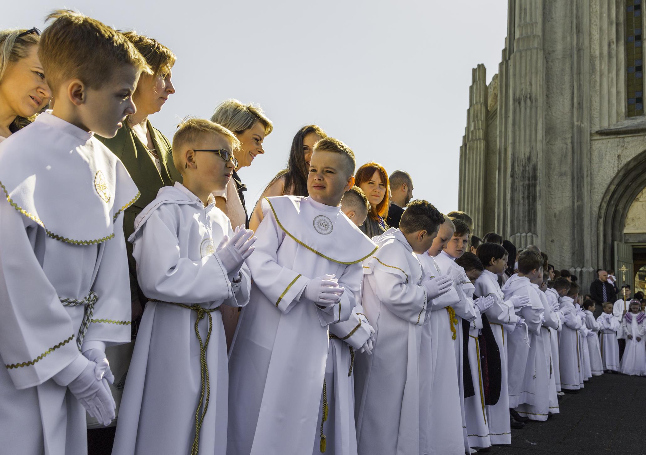 Holy Communion in Reykjavik 2017