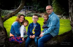 Zuzanna and Grzegorz with children.