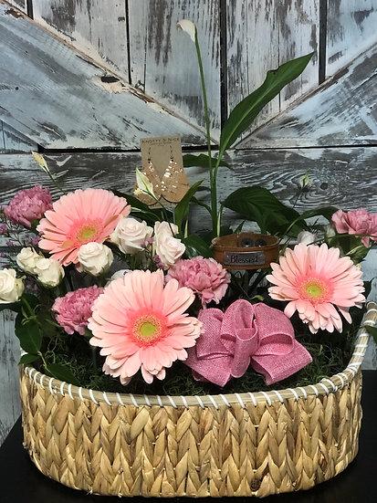 House Plant & Fresh Flower Baskets