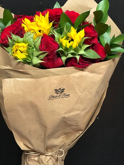Hand wrapped bouquets