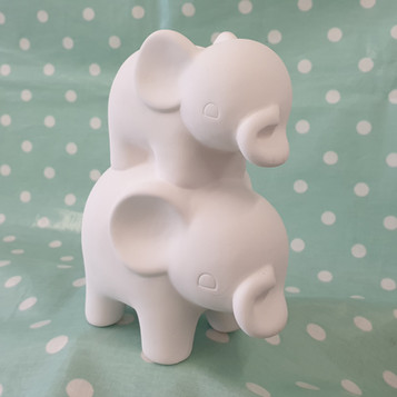 Elephant Friends Money box