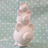 Pig Stack Money box