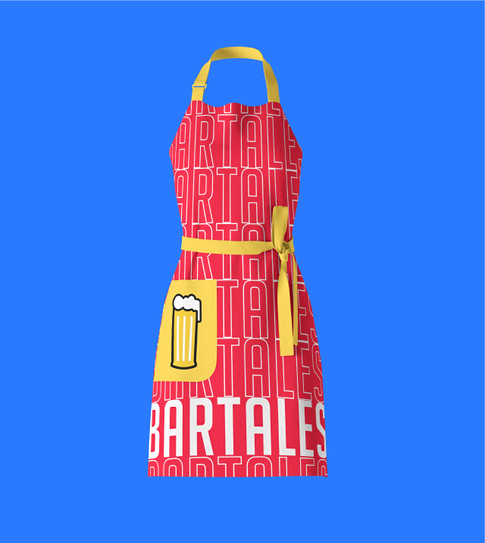 Bar Tales Female chef apron