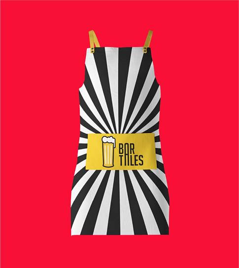 Bar Tales Male chef apron