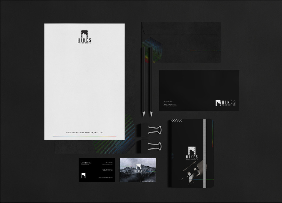 Hikes Production Stationery