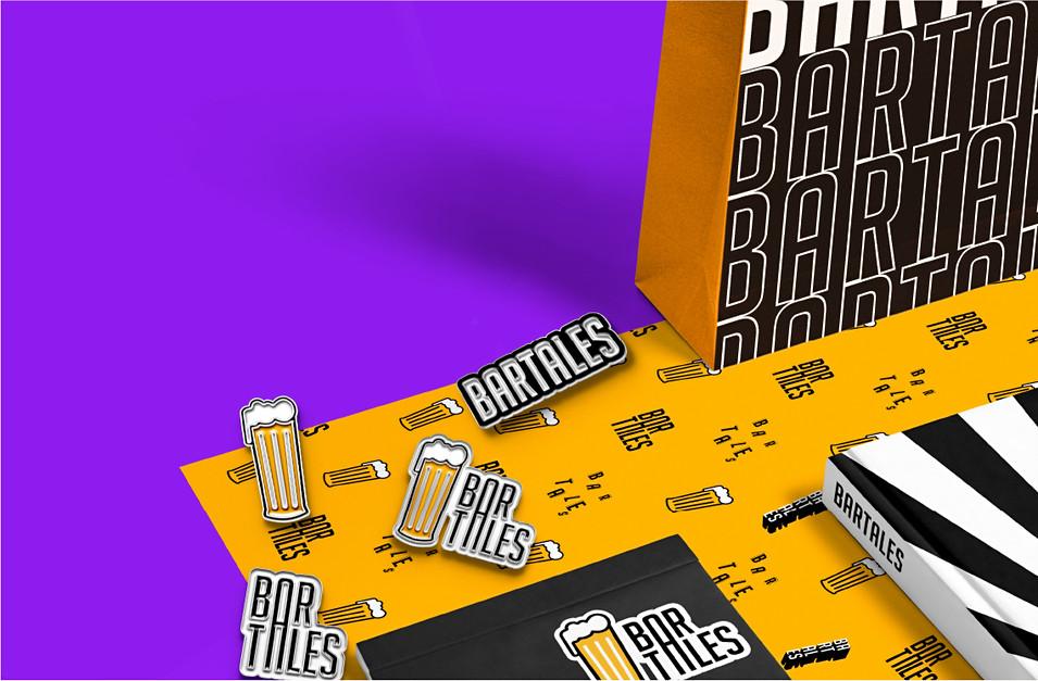 Bar Tales Bag 2 & Lapel pins
