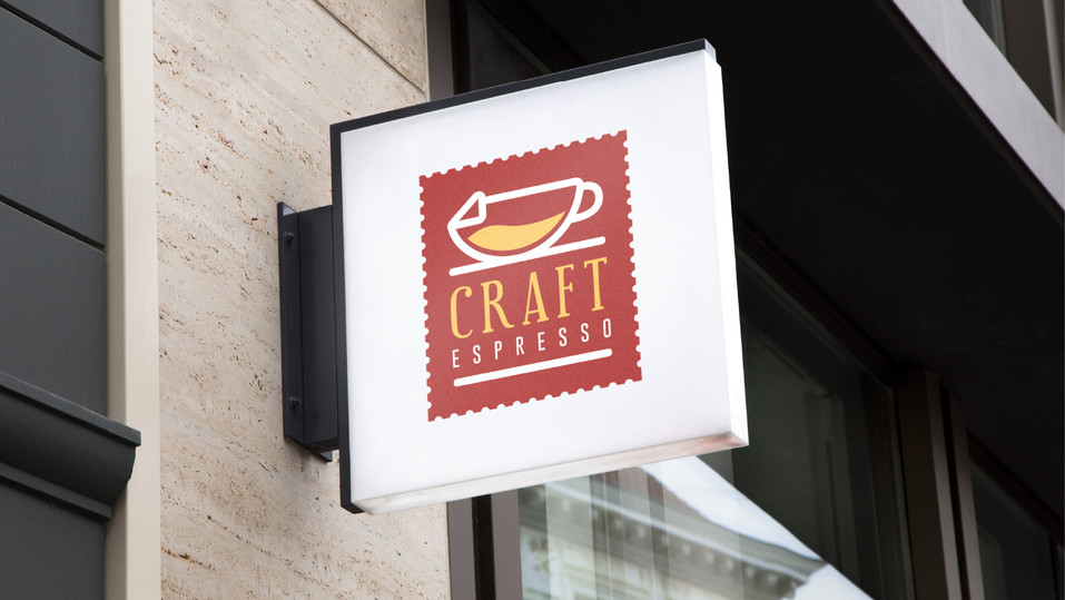 Craft Espresso Signage