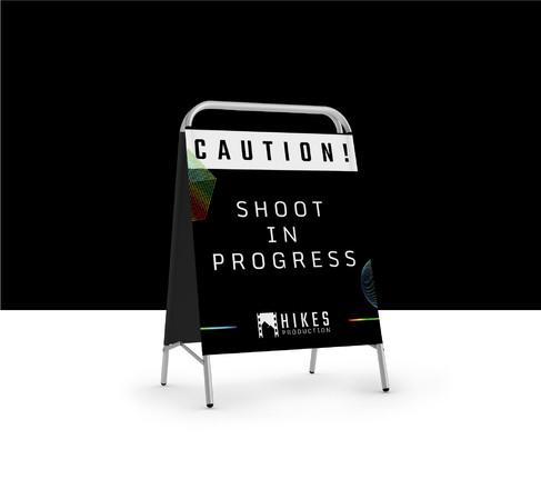 Hikes Production Shoot in Progress