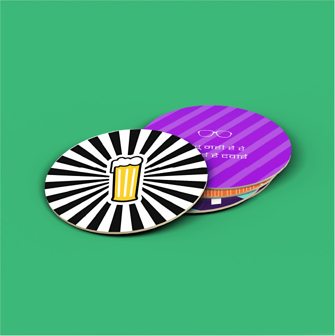 Bar Tales Coasters