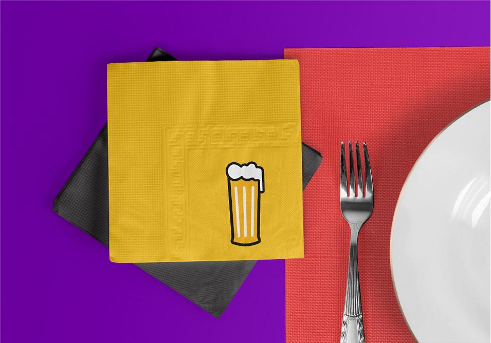 Bar Tales Tissue Paper