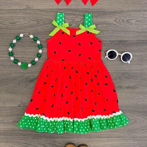 Watermelon Sweets Summer Dress