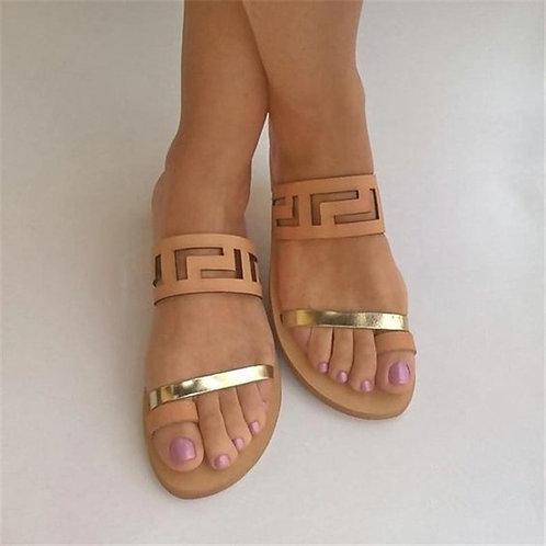 Solid Beach Sandals