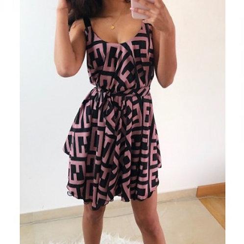 Tribal Print Summer Dress
