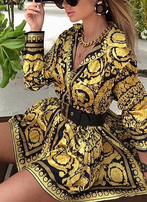Vintage Women's Boho Dress