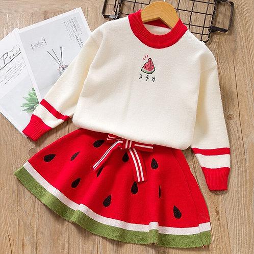 Watermelon Winter Dress