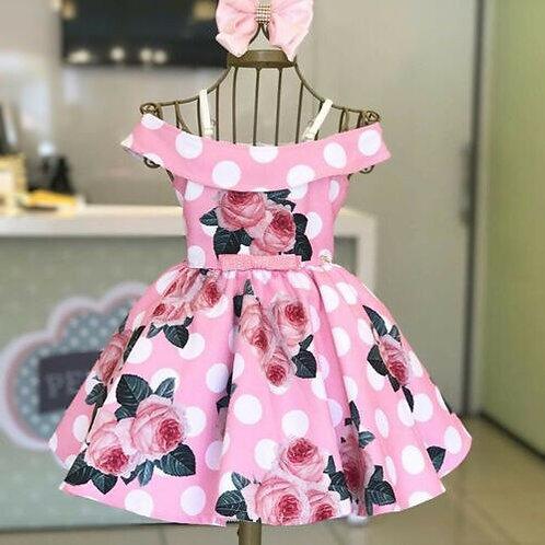 Pink Polka Dot Princess
