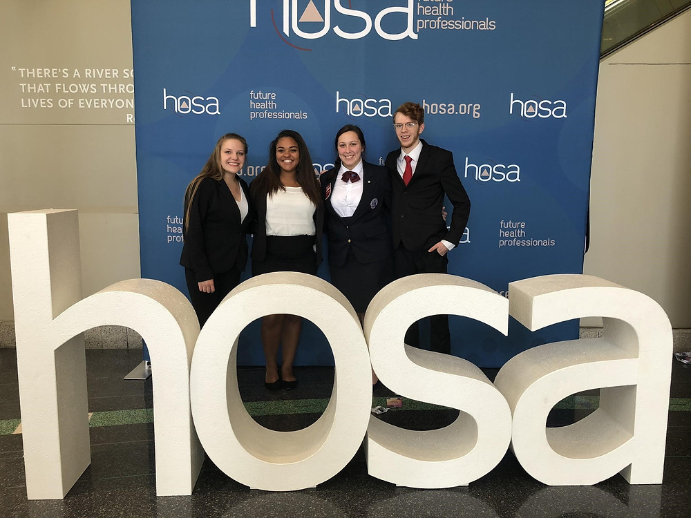 Hoosier Hills HOSA Bowl Team