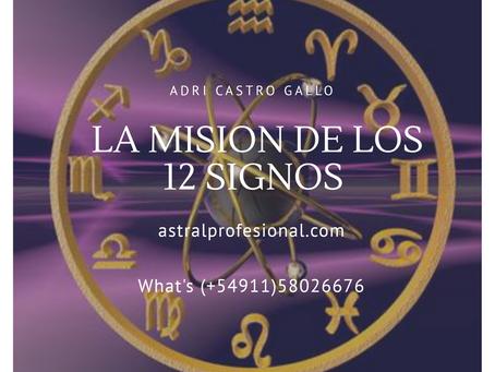 La misión de los signos zodiacales