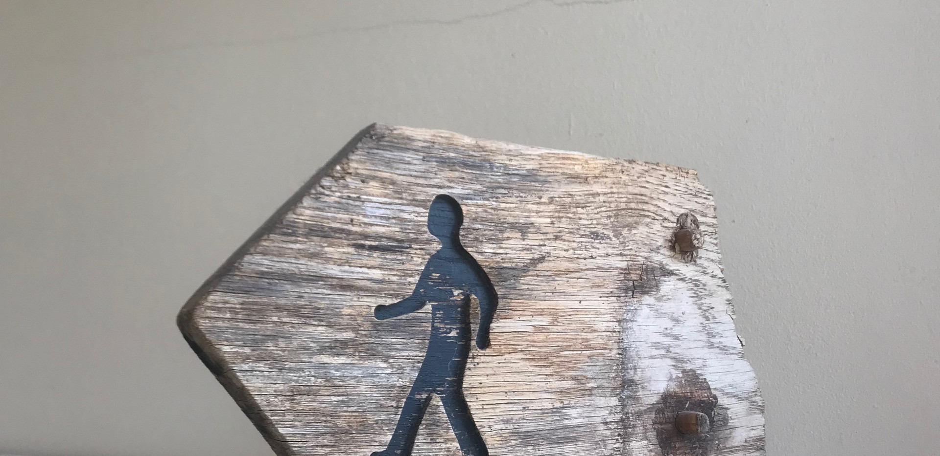 Walking post