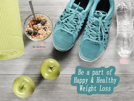 Lose Weight in a Healthy & Happy way | No Dieting | Mucho Eyes
