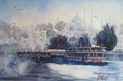 Istanbul Sunset series - Winter