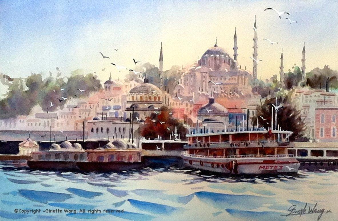 Istanbul Sunset series - Summer